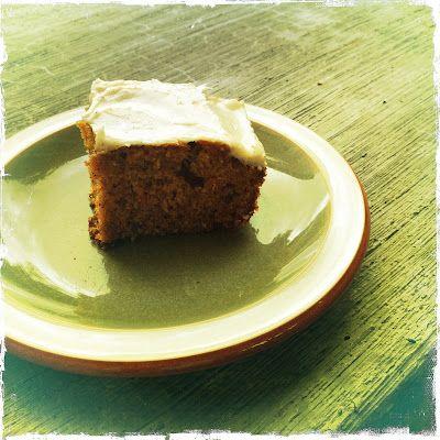 Chai carrot cake.