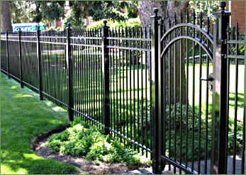 Fence Gates Rod Iron Gates And Iron Fence Panels Iron Fence Front Yard Fence