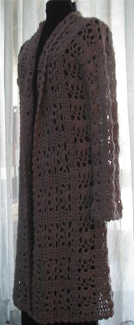 Ravelry Project Gallery For Openwork Duster Pattern By Doris Chan