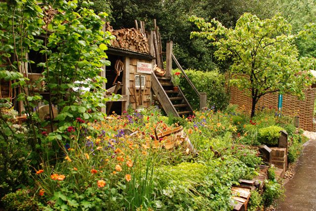 Future climate Info, A Trugmaker's Garden RHS Chelsea 2015 Lisa Cox
