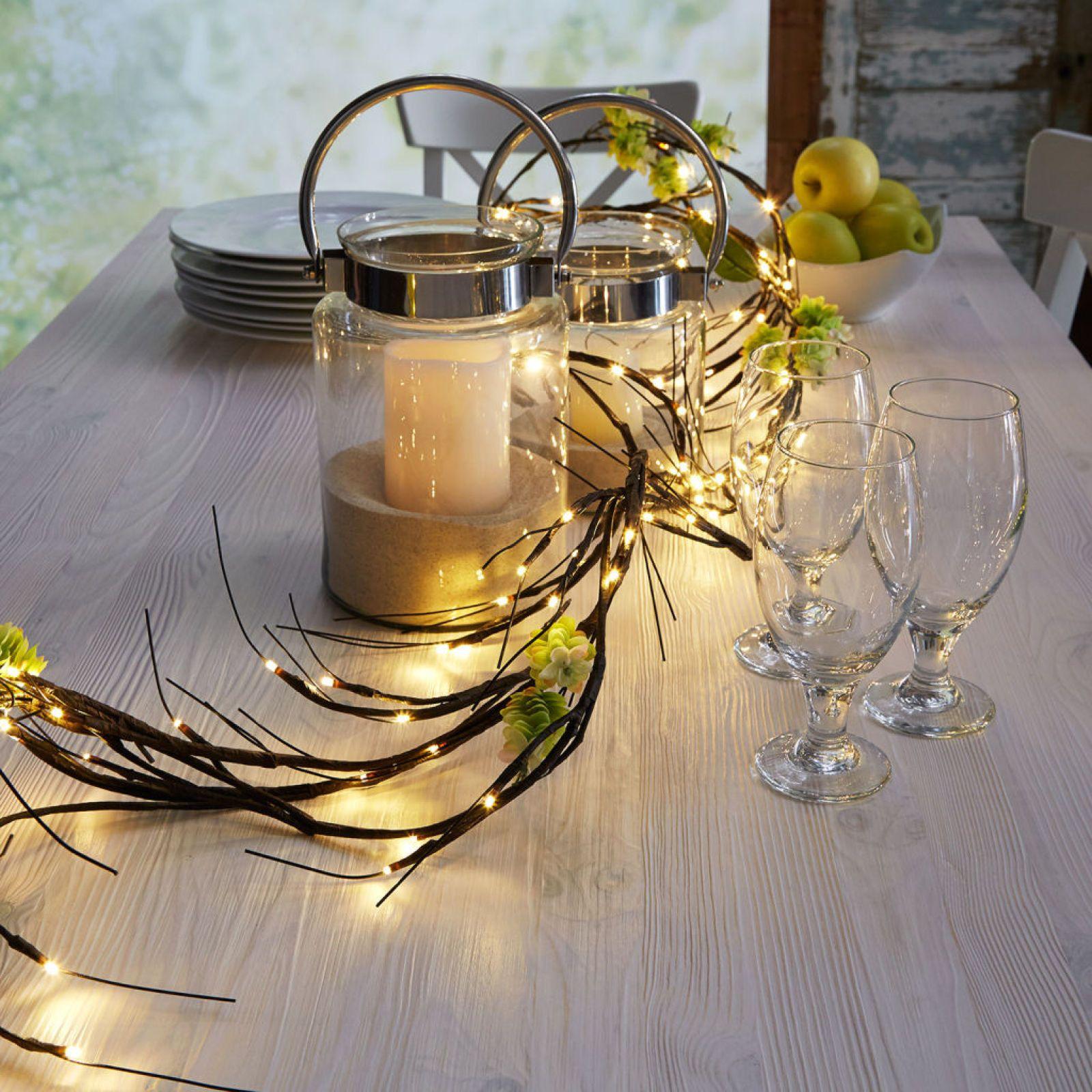 Diy halloween wedding decorations  Lighted Branch Centerpiece  Crafty Things  Pinterest  Lighted