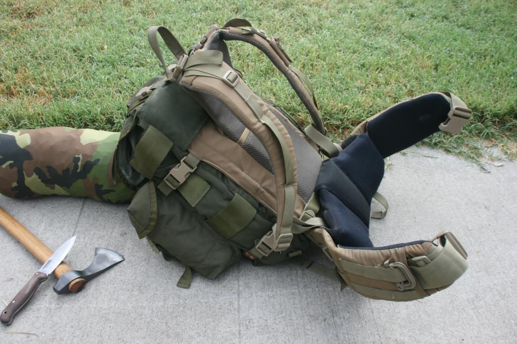 US Military ALICE Pack Padded LC-2 Shoulder Strap LEFT SIDE ONLY OD Green NEW