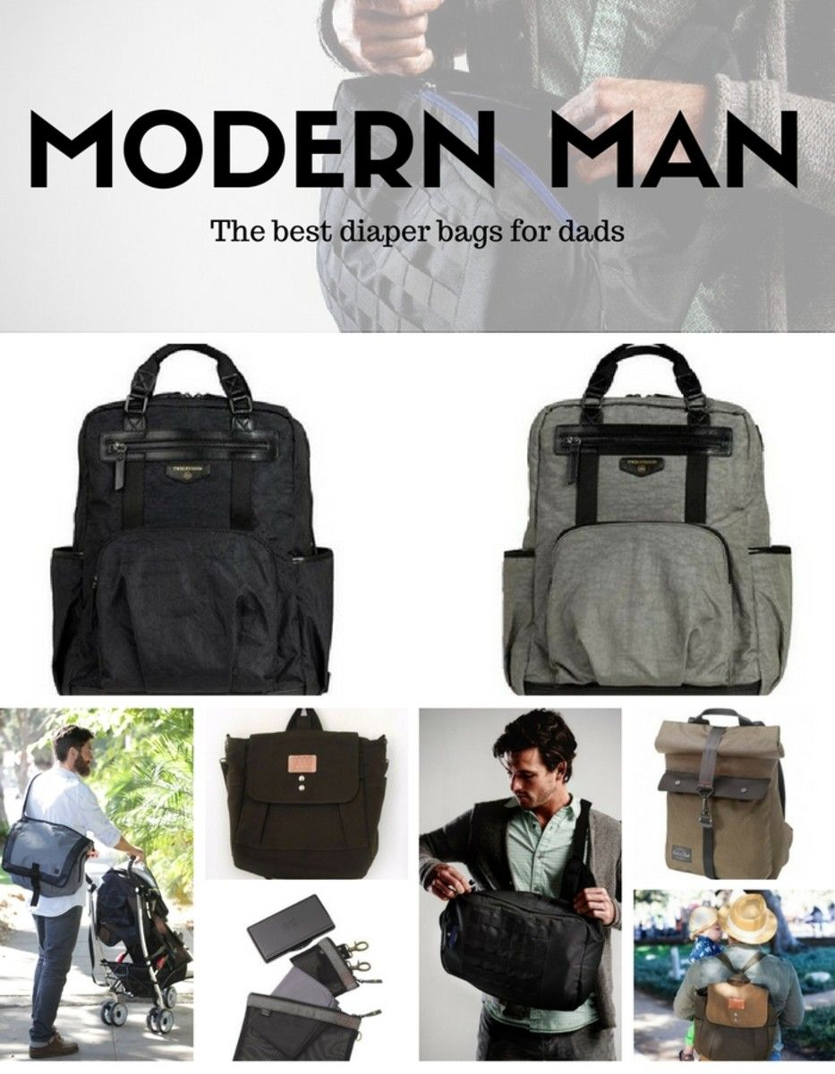 The Best Diaper Bags For Dads Momtrends