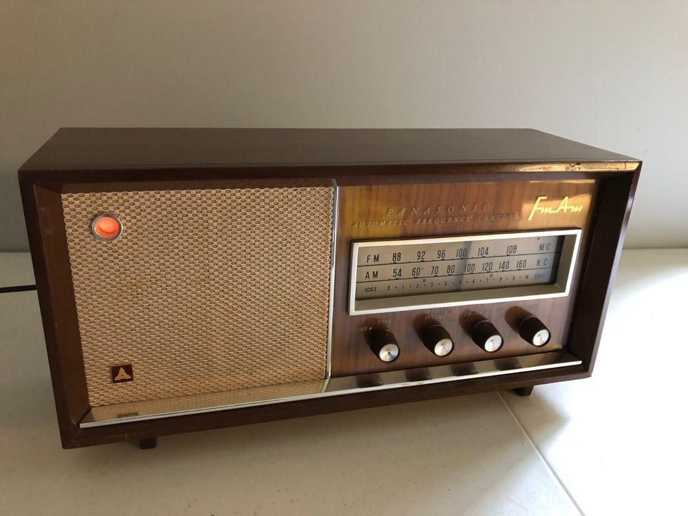 Radio Am Fm Panasonic Automatic Frequency Control Model 782b