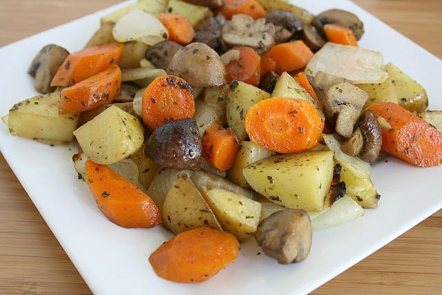 Roasted Vegetable Medley - change it up with your own favorite veggies! (vegan, gluten-free)