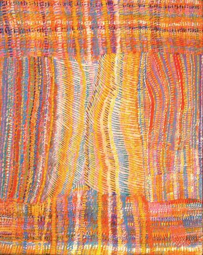 Eunice Napanangka Jack ~ Hairstring, 2004