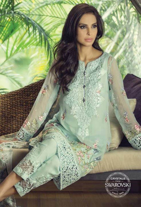 be35ee8e2 Latest Eid collection 2016 with price by Maria B. Designer Maria B ...