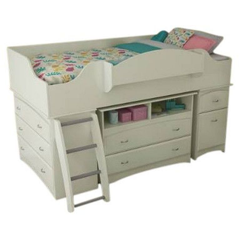 Best 20 Sweet And Cute Low Loft Bed Designs For Kids Twin 400 x 300