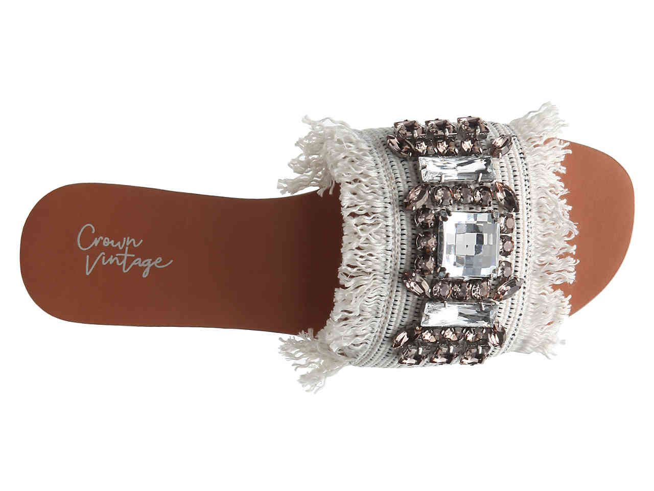 db26246f10fd Crown Vintage Glorianna Slide Sandal Women s Shoes
