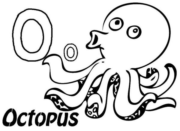 Free Octopus Coloring Pages Printable Octopus Coloring Page
