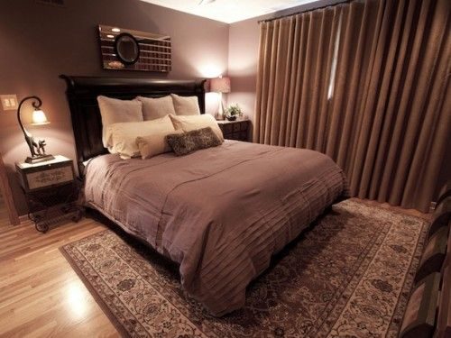 Purple And Brown Bedroom Brown Bedroom Brown Curtains Bedroom Serene Bedroom