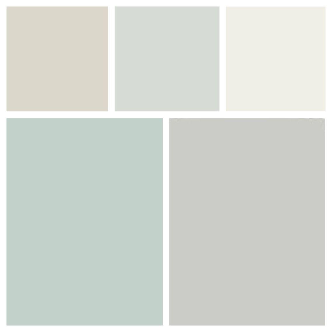 Current Paint Colors And To Do Paint Colors L R Top Bm Balboa Mist Bm Healing Aloe Bm W Interior Paint Colors For Living Room Palladian Blue Balboa Mist