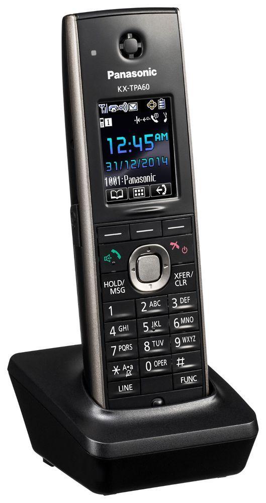 Panasonic Kx Tpa60 Additional Dect Cordless Handset For Tgp600 System