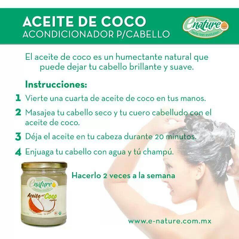 los beneficios del aceite de coco en el cabello