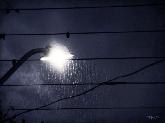 Uma luz um clarão bl