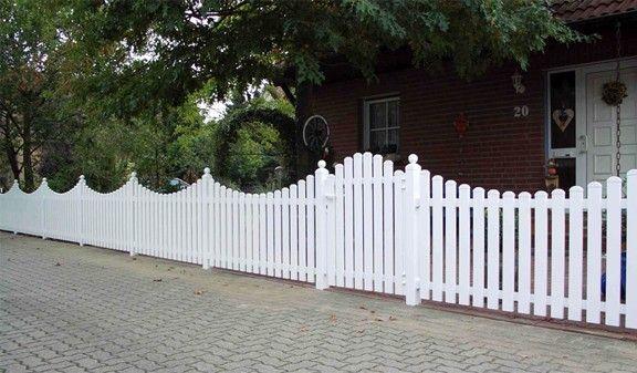Der Kunststoff Gartenzaun Fehmarn ist aus hochwertigen Kunststoff - sichtschutzzaun aus kunststoff gute alternative holzzaun