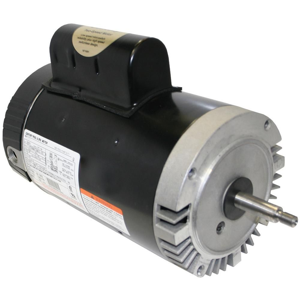 Century 2 Hp Dual Speed Full Rate Replacement Motor Electronic Recycling Recycling Programs Class B