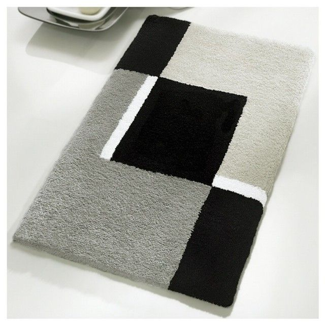 Bath Mats Luxury  Pinterdor  Pinterest  Bath Mat Bath And Impressive Black And White Bathroom Rugs Decorating Inspiration