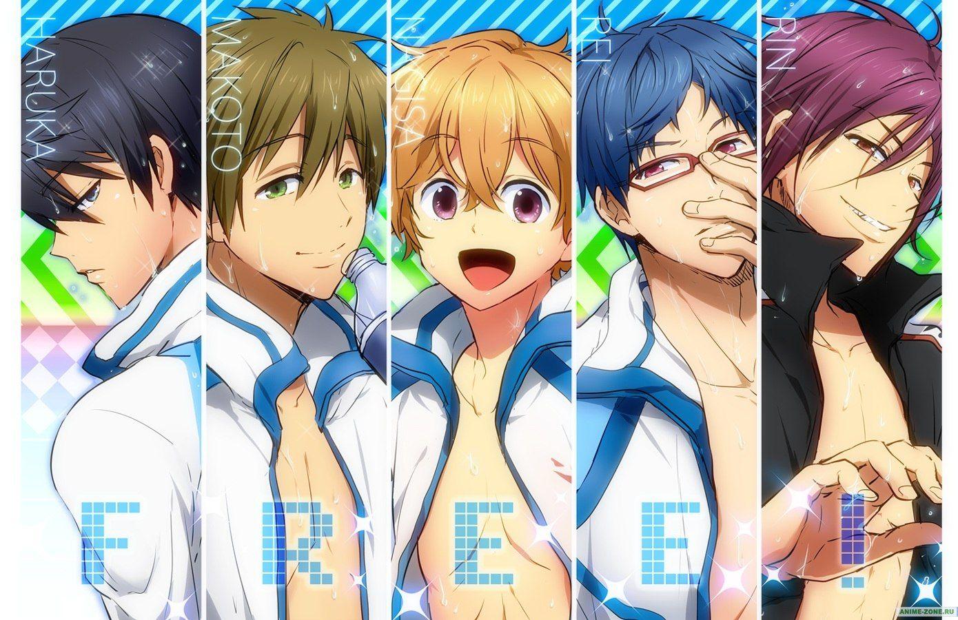 Haru, Makoto, Nagisa, Rei, Rin Girl Name D D D (с