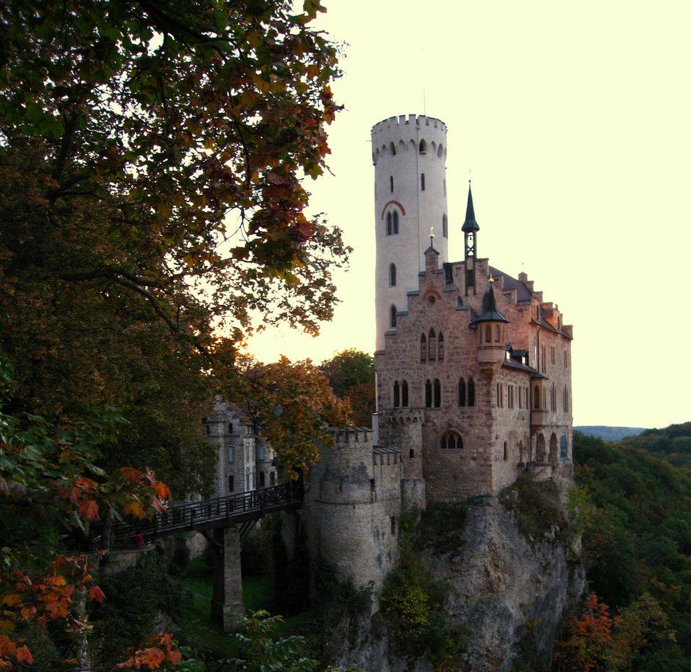 Lichtenstein Castle in Württemberg | Community Post: 18 German Castles That Put Disney To Shame
