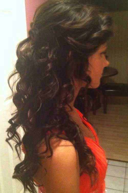 20 half up half down curly hairstyles wedding hair pinterest 20 half up half down curly hairstyles pmusecretfo Gallery
