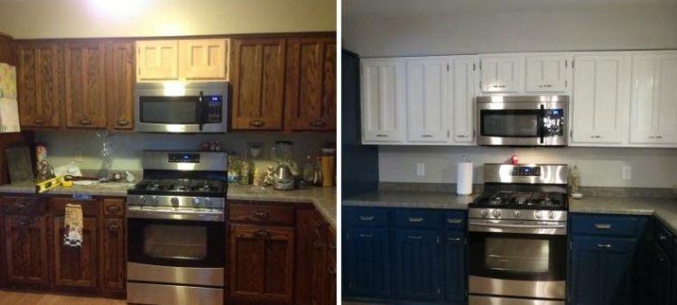Küchenfronten austauschen – 37 Vorher-Nachher Beispiele ...