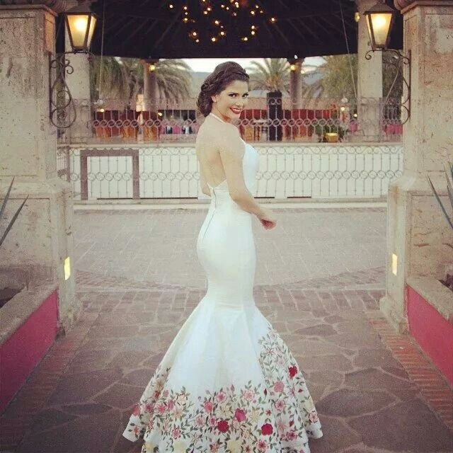 Beautiful Wedding Dress Inspired By Mexican Traditions Wedding