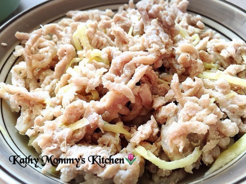 私房菜:薑絲燉肉