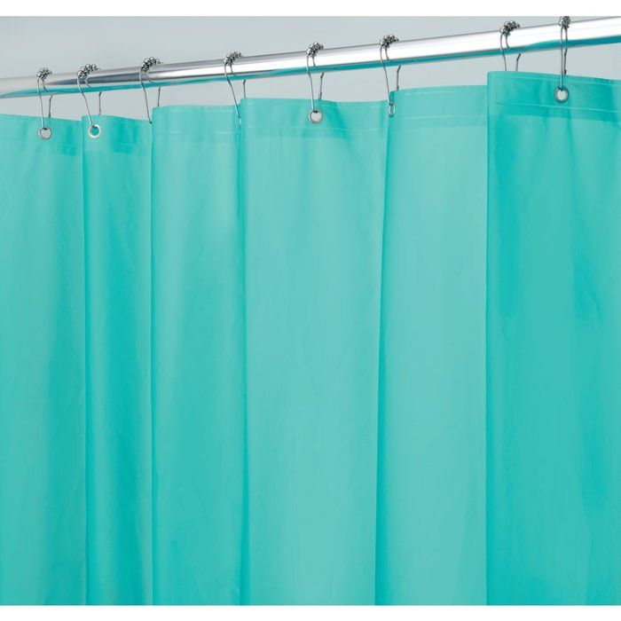 Not only is this premium PVC free shower liner water repellent and ...