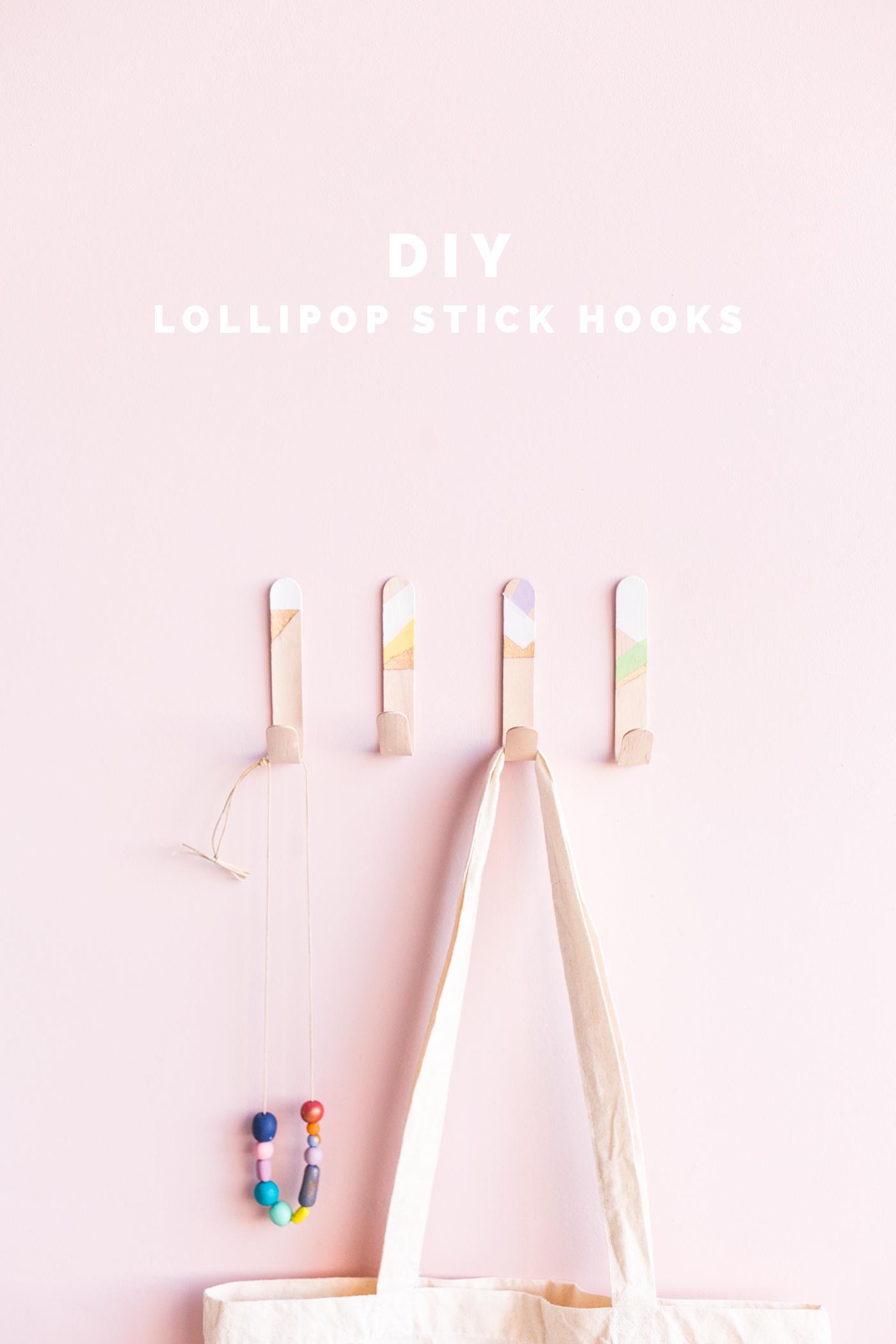 Крючки для палок для леденцов своими руками |  Падение для DIY