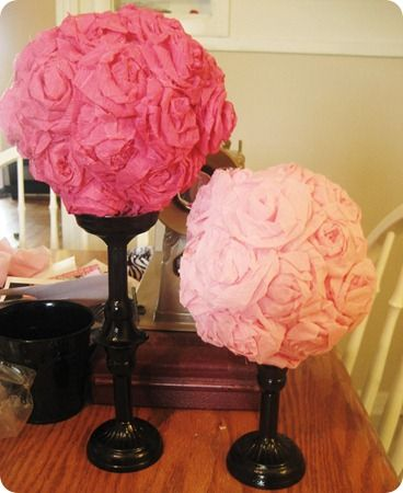 Crepe paper flower ball tutorial crafts pinterest paper flower crepe paper flower ball tutorial mightylinksfo