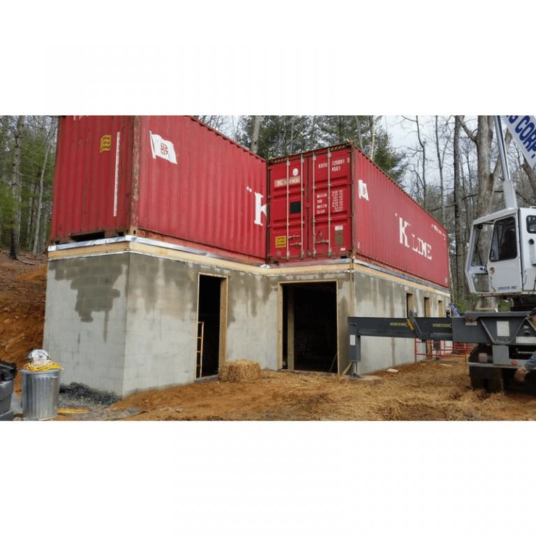 Maison Container A Vendre Construire Une Maison Container: NC BOX SHIPPING CONTAINER RESIDENCE