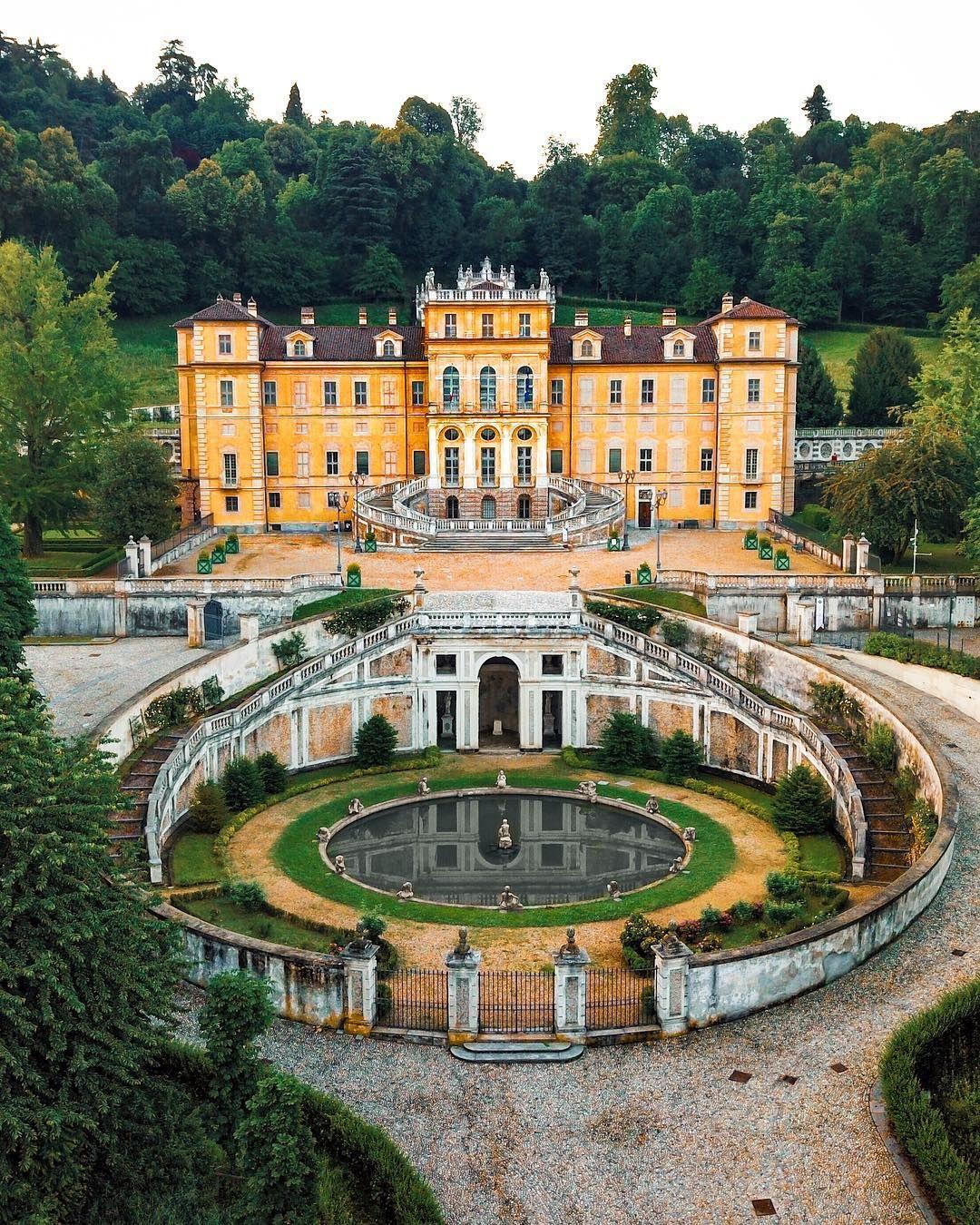 Villa della Regina by boge88 on IG. House of savoy