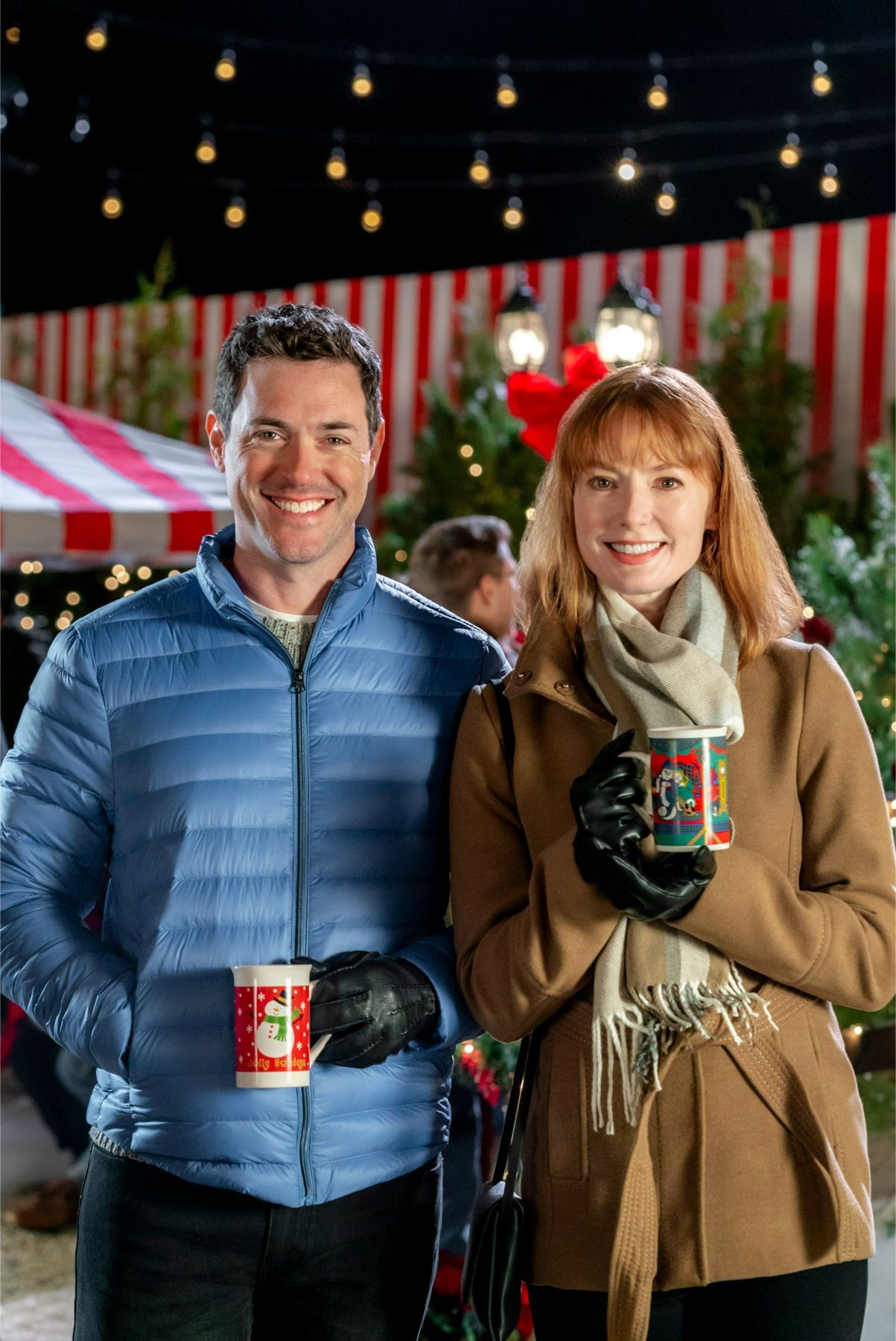 Watch An Exclusive Clip Of Hallmark S Upcoming Holiday Movie Our Christmas Love Song Starring Alicia Witt And Brendan Hines Christmas Love Songs Christmas Love Love Songs