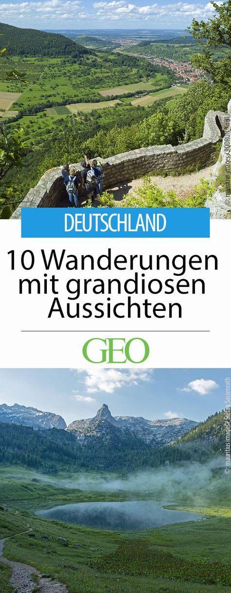 Wanderungen mit grandioser Aussicht in Deutschland