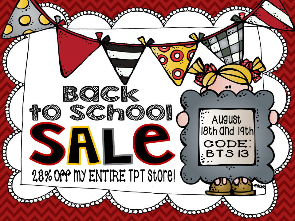 Want to promote your 2013 Back to School Sale?! Use this SUPER CUTE image to DRAW IN those BUYERS!