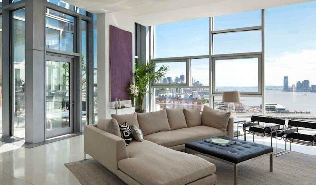 penthouse wohnung montreal designerin julie charbonneau, see this house: a $22 million dollar penthouse with windows galore, Design ideen