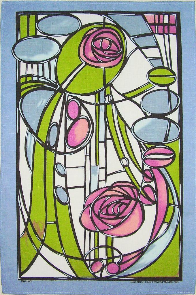 Pin By Tara Matangi On Stained Glass Mackintosh Design