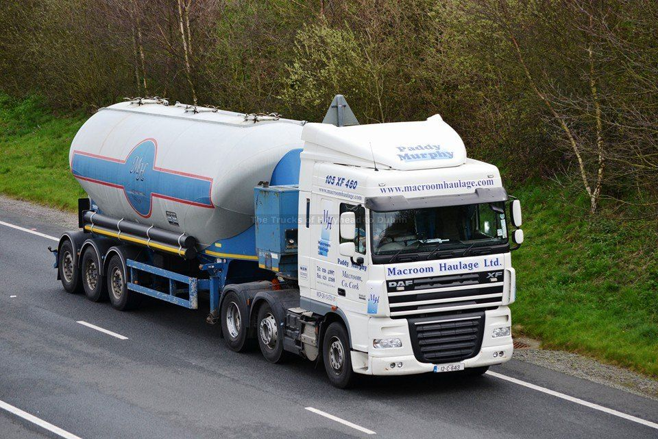 Macroom Haulage DAF XF | Irish Trucks | Trucks, Commercial ...