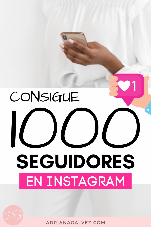Consigue 1000 Seguidores En Instagram Conseguir Seguidores En Instagram Consejos Para Redes Sociales Consejos Para Instagram
