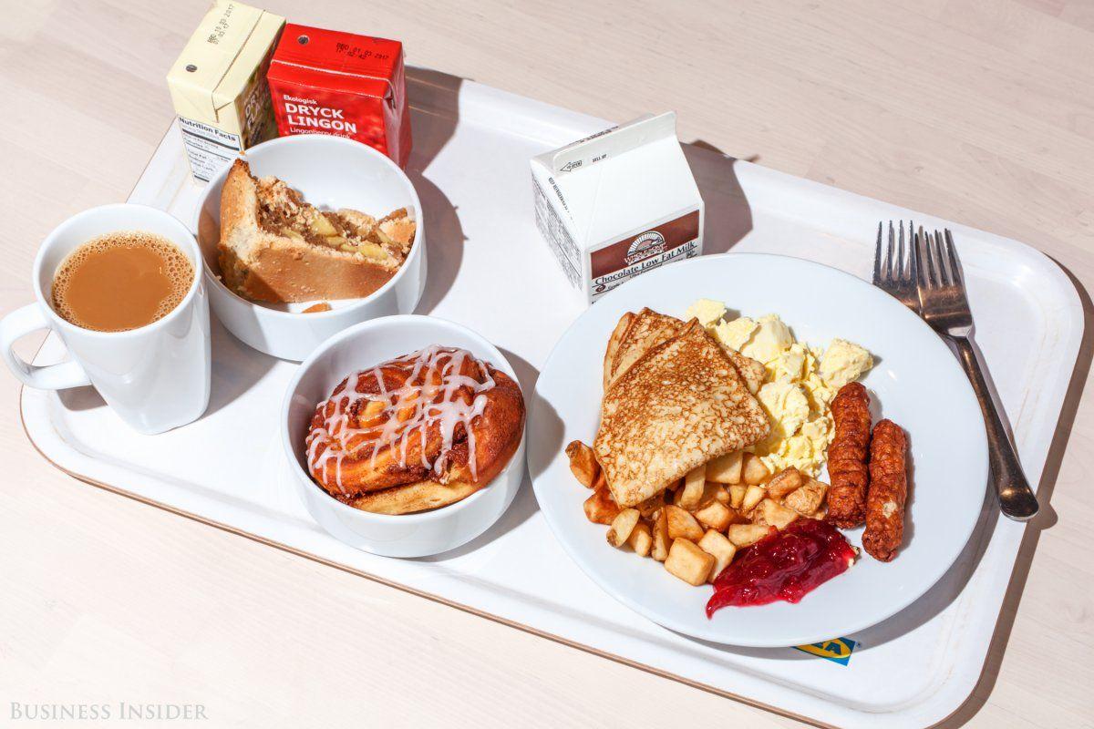 Ikea Breakfast Menu