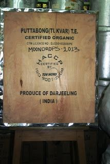 A superb offering of 1st flush 2013- Puttabong Organic Moondrops