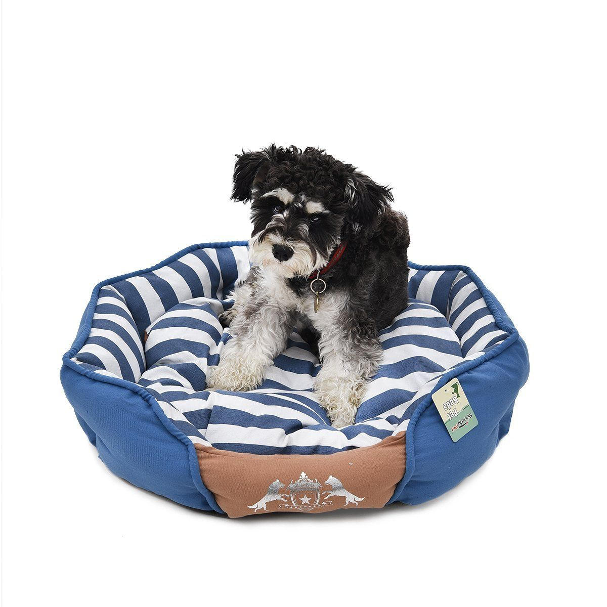 Pawz Road Pet Bed Dog Canvas House Removable Cushion Puppy