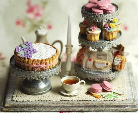 Desserts in Miniature
