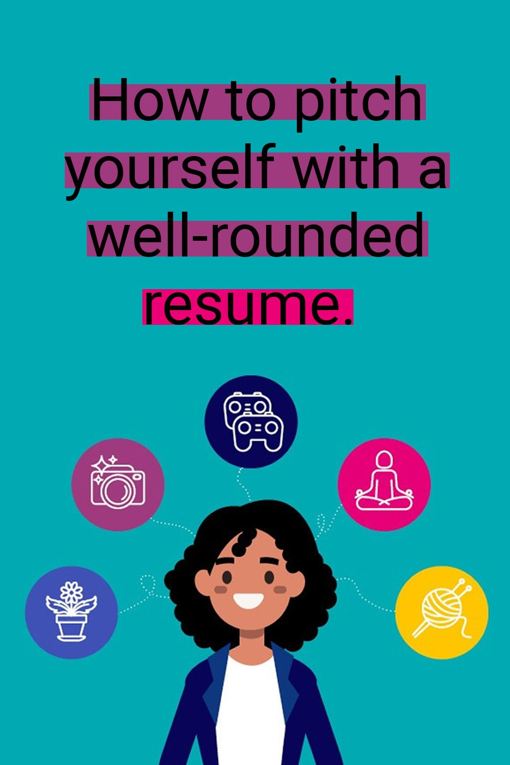How to pitch yourself with a wellrounded resume (With