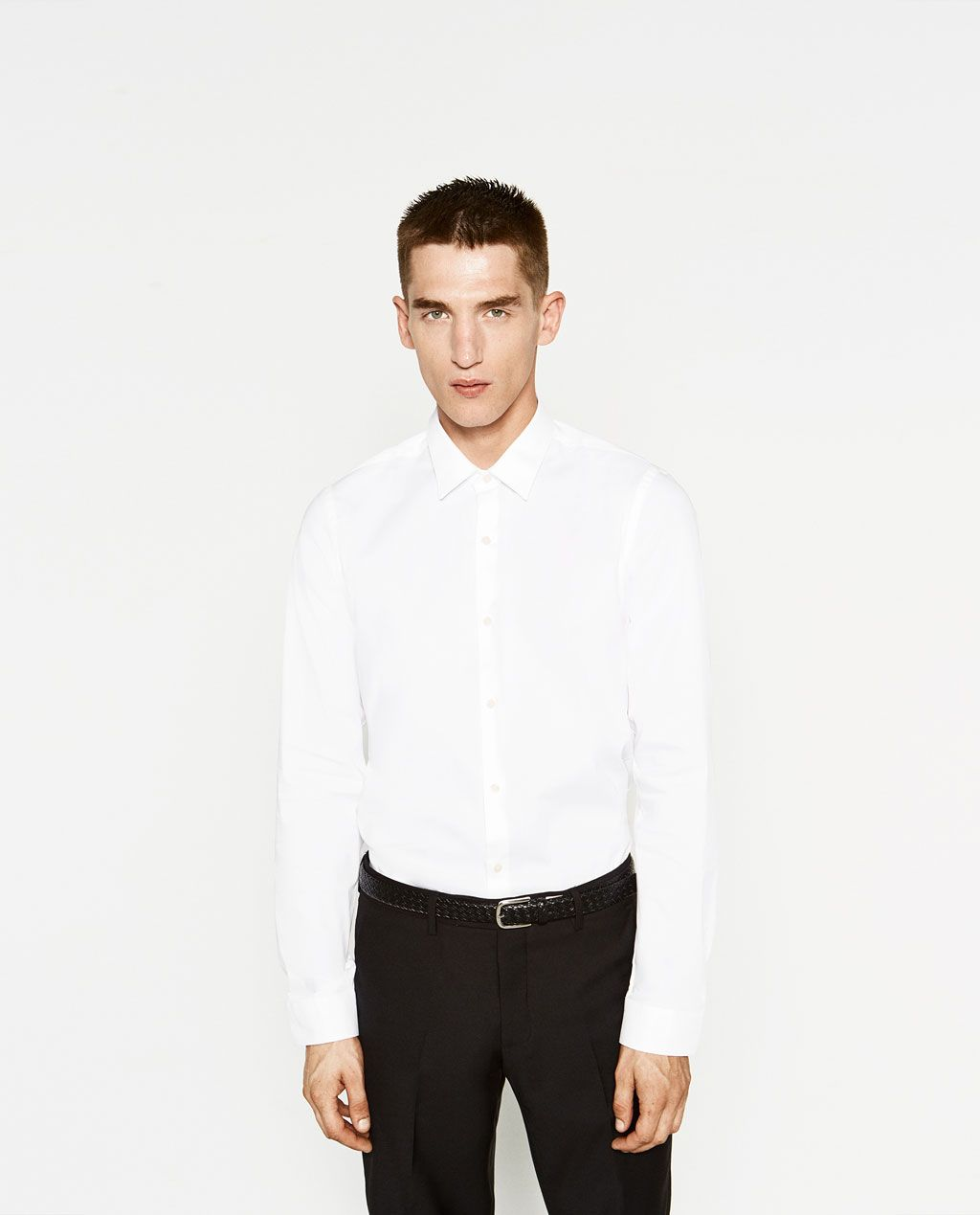Image 2 Of Plain Shirt From Zara Men Trade Show Outfits