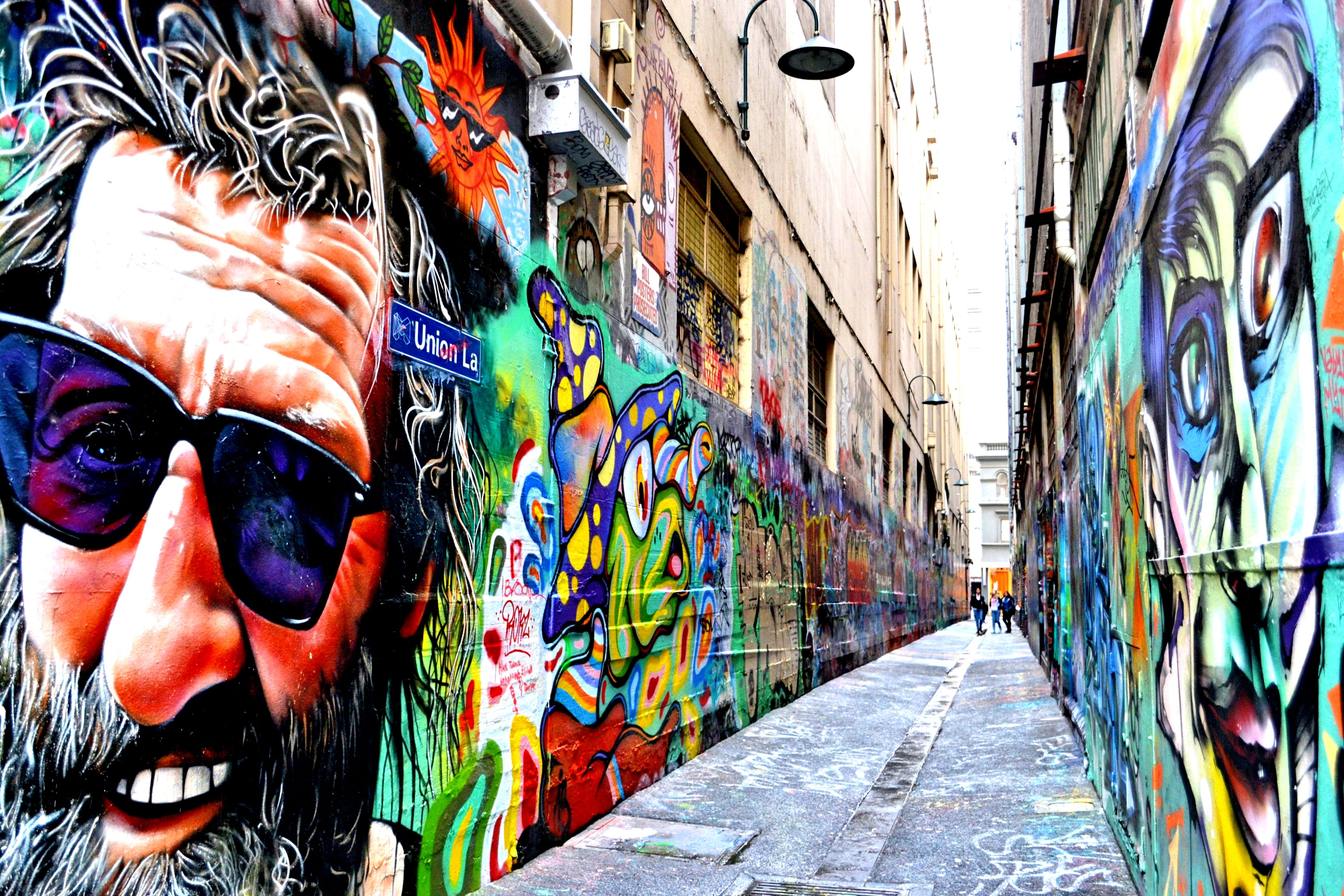 Graffiti art for sale melbourne - Hosier Lane Street Art Melbourne Graffiti Wefgb Fgfg
