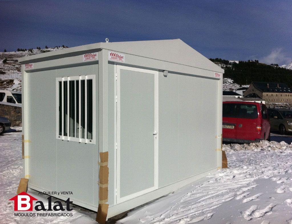 caseta en candanchu modulos modular casas