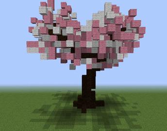 Cherry Tree Cherry Blossom Tree Minecraft Projects Minecraft