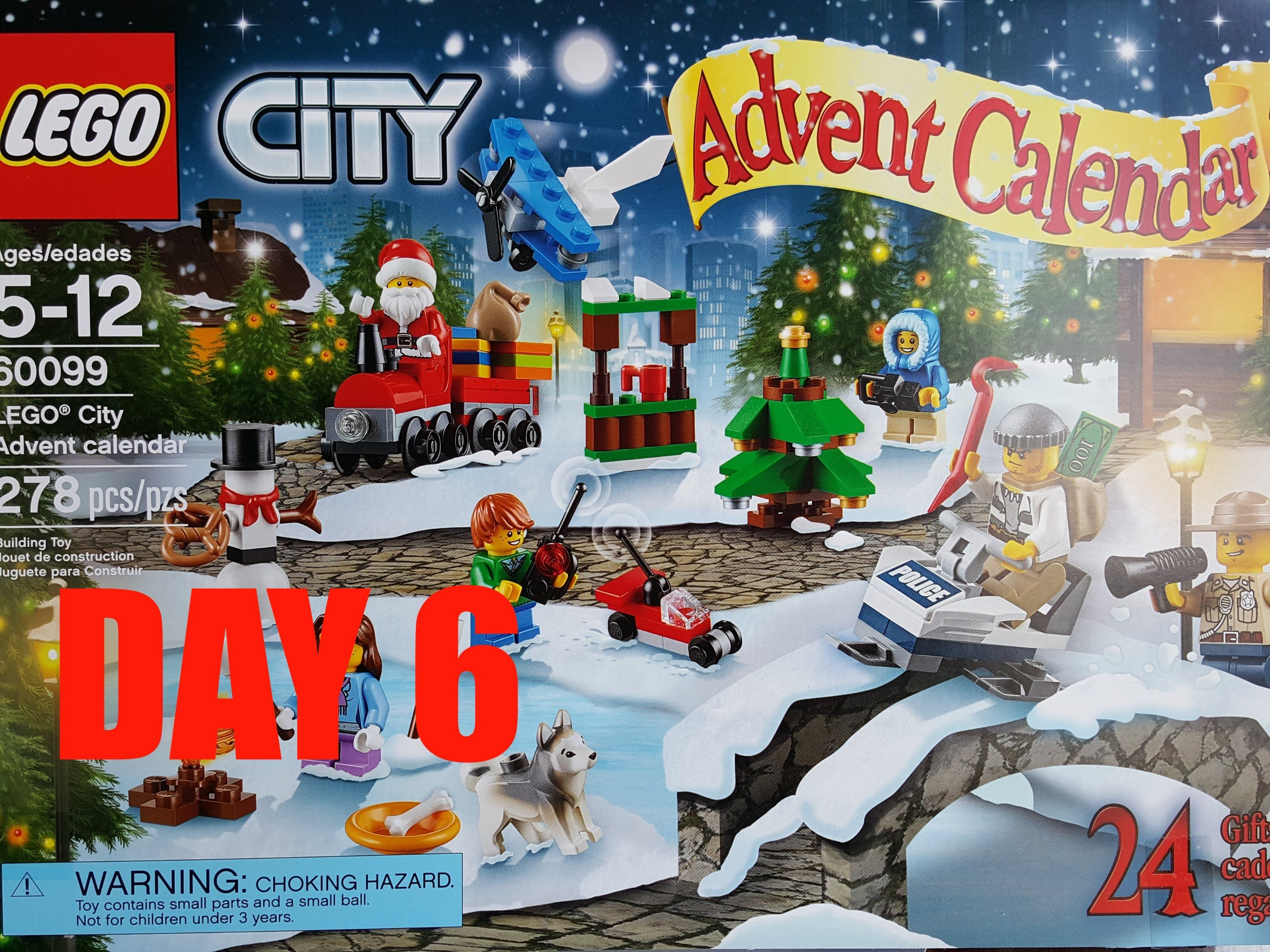 lego city advent calendar set bonus ornament buid